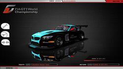 BMW Z4 GT3 BMW 4.0 L V8