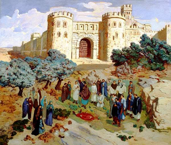 Saint Baudile. Martyr à Nimes (3ème s.)