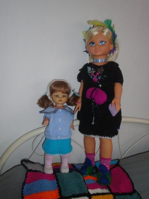 Des vêtement de poupées