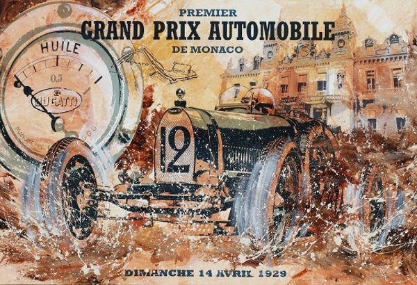 Affiches du GP automobile de Monaco