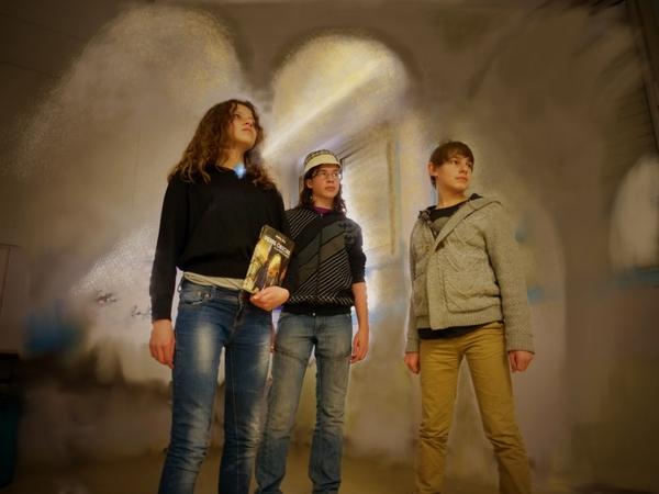 La Porte d'Azoth : tableau vivant