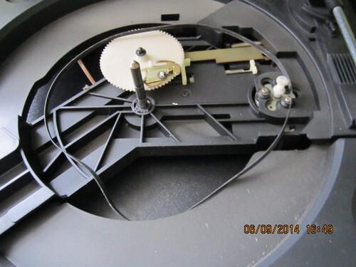 "Chaine Hi-Fi "" Continental Edison Saba + lecteur CD Philips +  platine Philips """