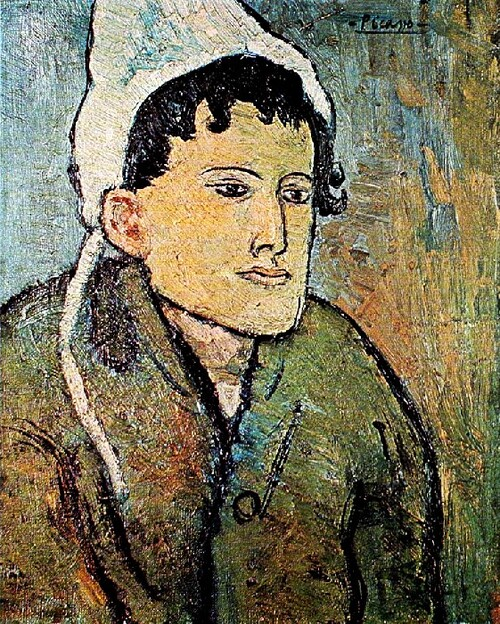 5.Picasso / 1900 ;Peintures sous influences