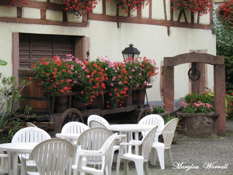Eguisheim (68) 2/ : Le long de la Grand'Rue
