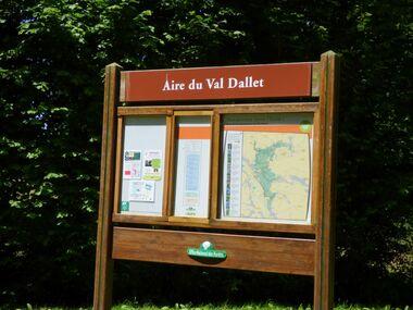 Le chemin de Val Dallet