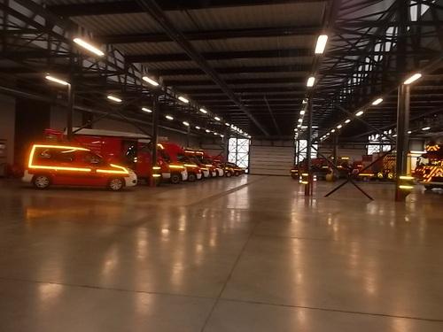 Tous chez les pompiers