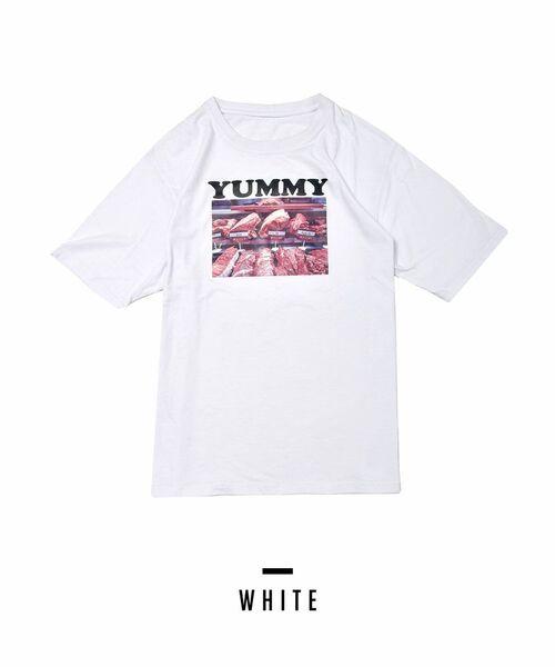 [PIMMY] - T-shirt Yummy - 4 212 ¥