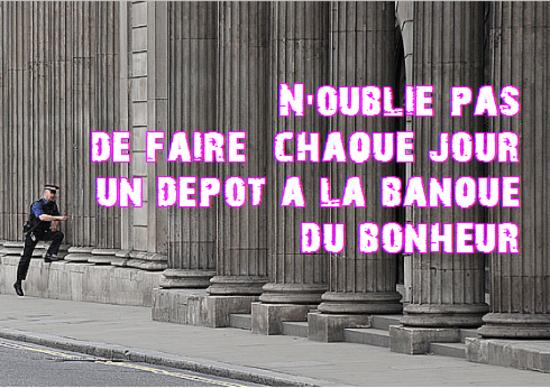 depot banque bonheur