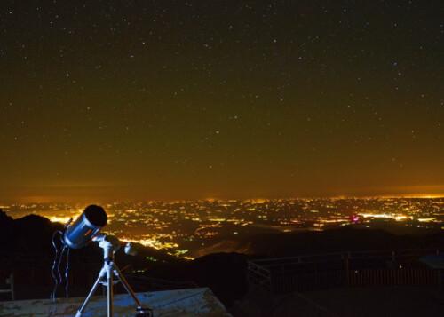 pollum et telescop