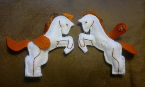 défi mars cheval
