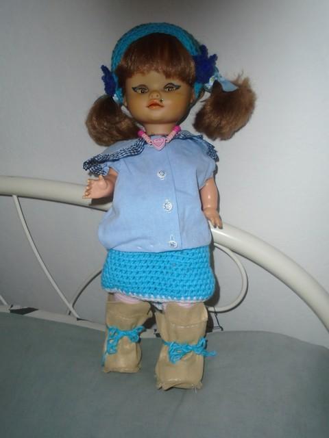 bottes pour poupées