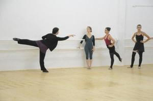 dance ballet class of ballet