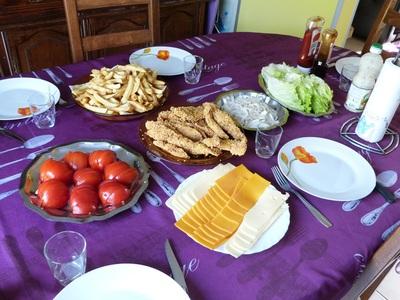 Blog de charlottopoire : Charlottopoire... mes petites créas..., Blanc de poulet façon kentucky - KFC