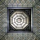 La verrière du dôme dans la grande salle (1)