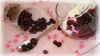 FROMAGE BLANC, MARMELADE CASSIS
