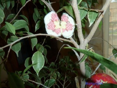 arbre à papillons ....