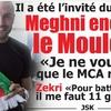 MEGHNI Mourad ,l'artiste supporte le Mouloudia