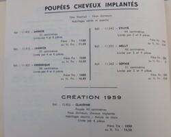 Catalogues de l'entreprise Gégé