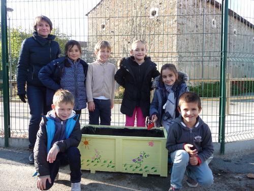 PROJET PLANTATION DE BULBES A L' ECOLE