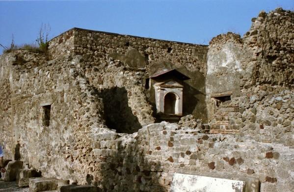 Pompei, la Maison du Faune (Fauces)