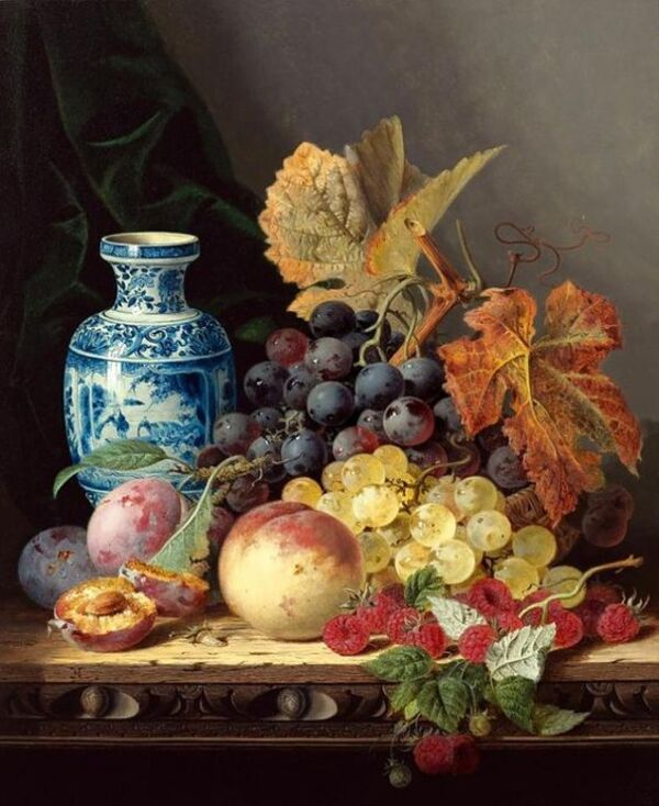 Peintures De Nature Morte De Fruits.........