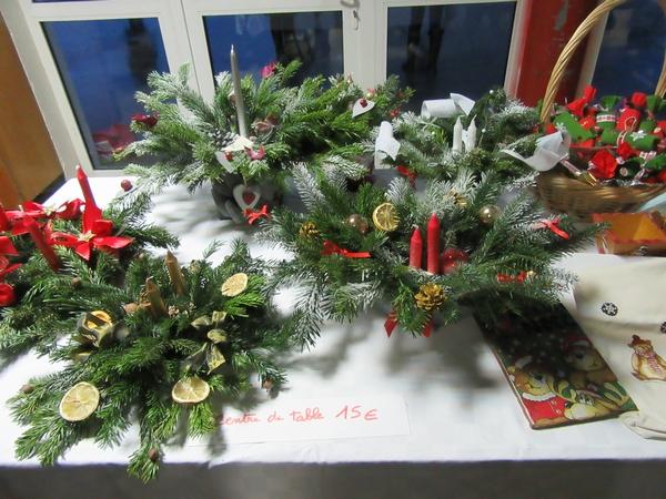 Le marché de Noël de l'Ecole Saint Bernard