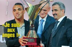 Hachoud Abderrahmane Élu Meilleur joueur 2013-2014