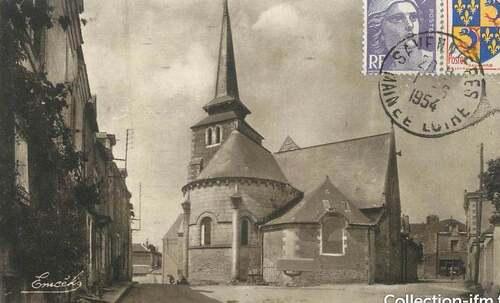 Eglise de Savennières (Maine et Loire)