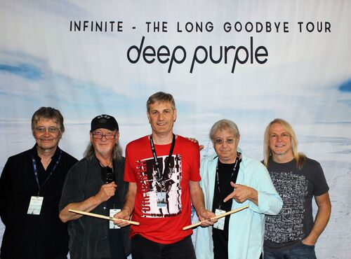 Phil de Fer et Deep Purple