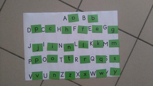 PSMS - Associer écritures majuscules et script