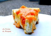 Cheesecake vanille et abricots