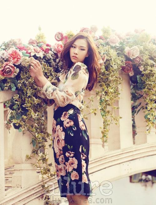 Kim Won Kyung pour Allure