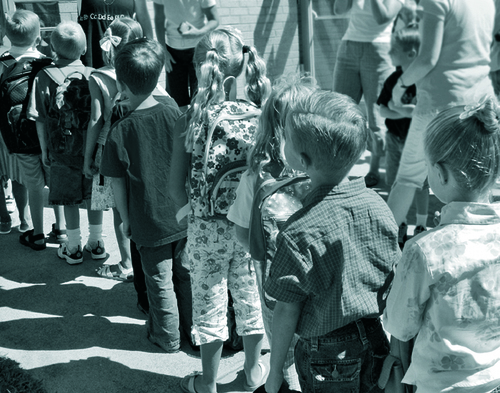 Regard sur le passé d'écoliers