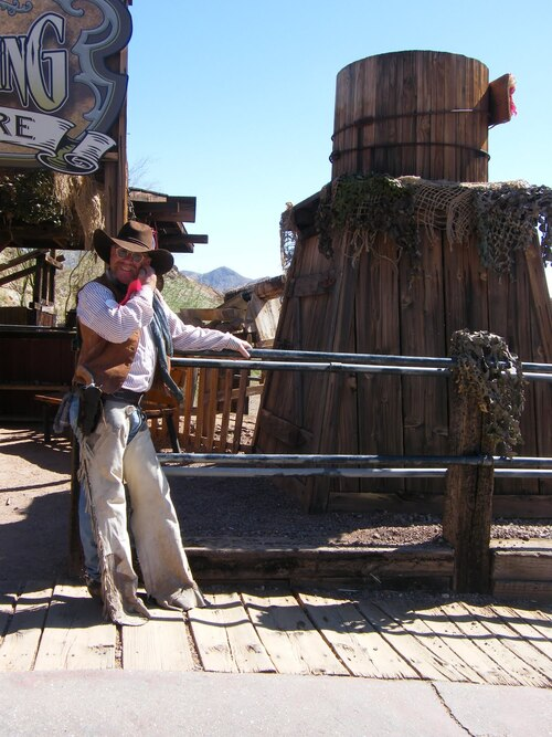 Voyage dans l'ouest américain