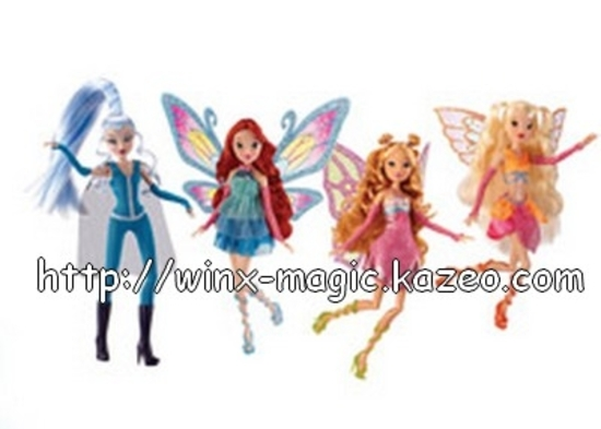 Pack Winx Good vs evil