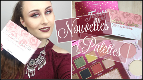 ♡ Nouvelles palettes Elsamakeup : Twinkle lights & Definition palette ♡