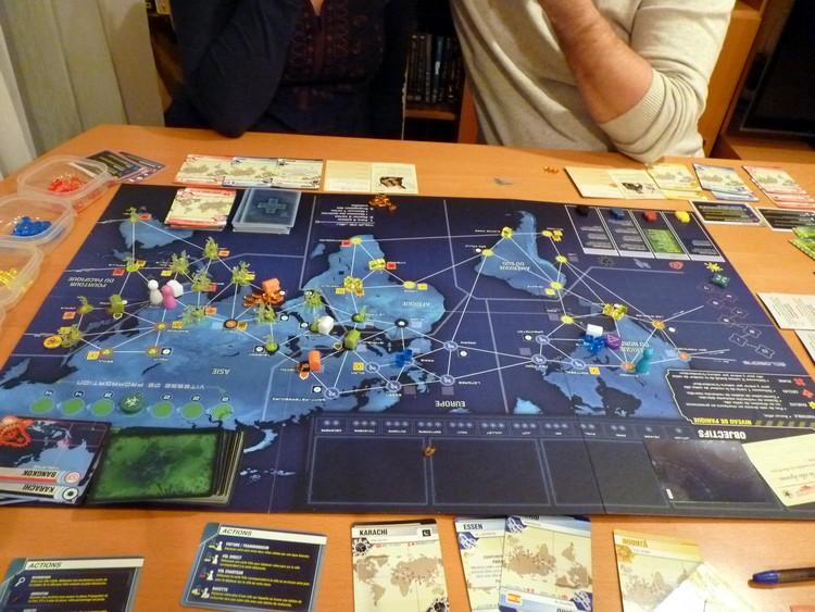 Pandémie Legacy (fin décembre 1)