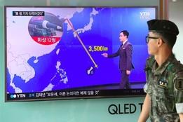 Les tensions entre la Corée du nord et les Us érodent les bourses