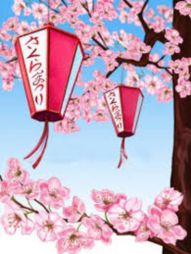 Hanami: la fête des cerisiers au Japon.