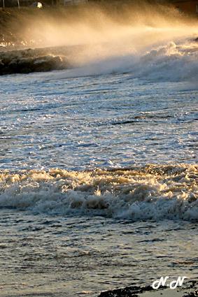 Vent sur la mer