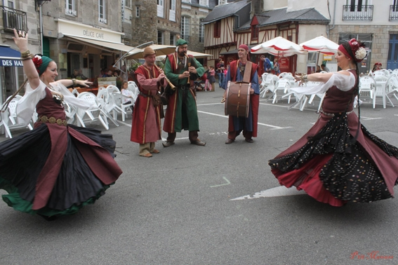 Et aussi avec les danseuses de Gaïawenn !