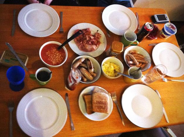 First irish breakfast