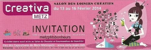 Créativa 2014 à Metz.