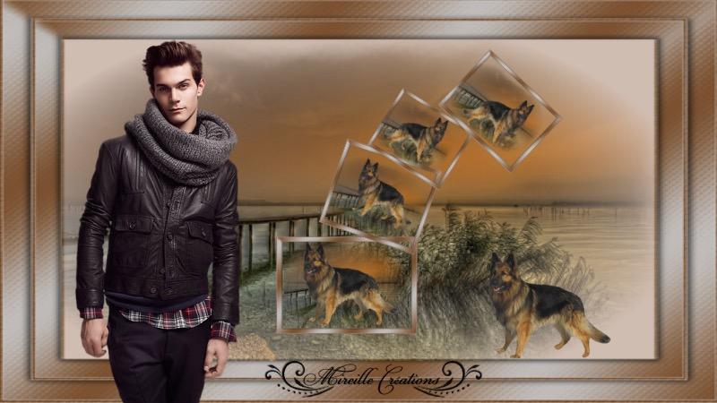 Hubert et son chien