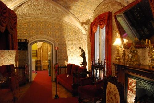 Palais de la pena à Dintra au Portugal (photos)