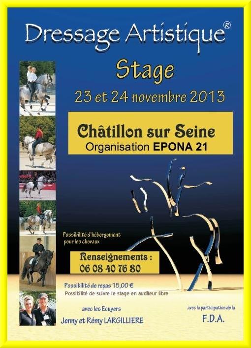 Epona 21, une nouvelle association d'amateurs de chevaux de loisirs, a vu le jour à Châtillon sur Seine