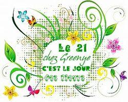 Le 21... jour des fleurs chez Greenye