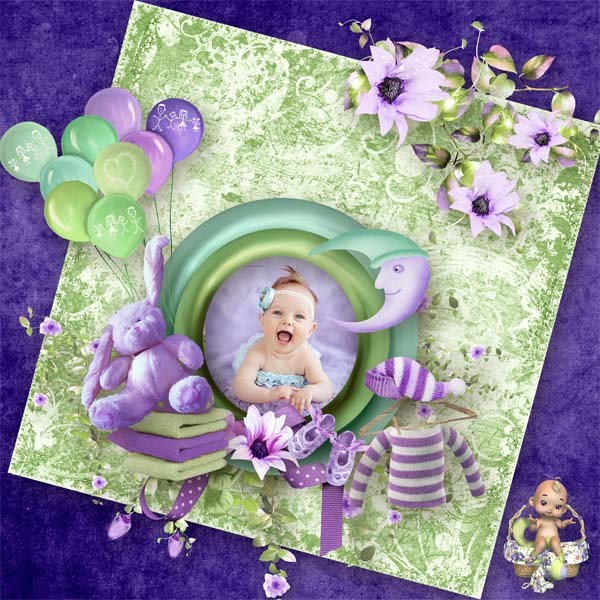 Sweet little baby de Scrap' Angie