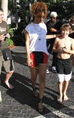 Rihanna aperçue à Miami
