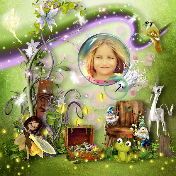 Magical World by Louise L
